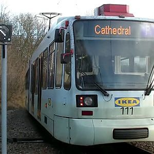 Sheffield Supertram   Herdings - YouTube