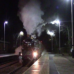 5043 Earl of mount edgcumbe at Mexbourgh powering up - YouTube