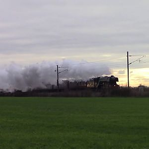 60103 Flying scotsman on the Scotmans salute 11-1-19 - YouTube