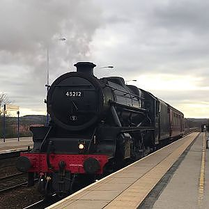 45212 at Swinton South Yorkshire (loco move) - YouTube